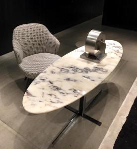 TABLE EN MARBRE DE CHEZ MINOTTI ; SALON DU MEUBLE DE MILAN SALON DU MEUBLE DE MILAN 20