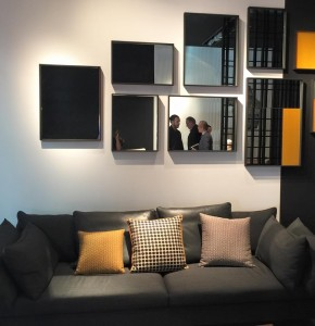 CANAPÉ & BIBLIOTHÈQUE - RITZWELL ; SALON DU MEUBLE DE MILAN 2015