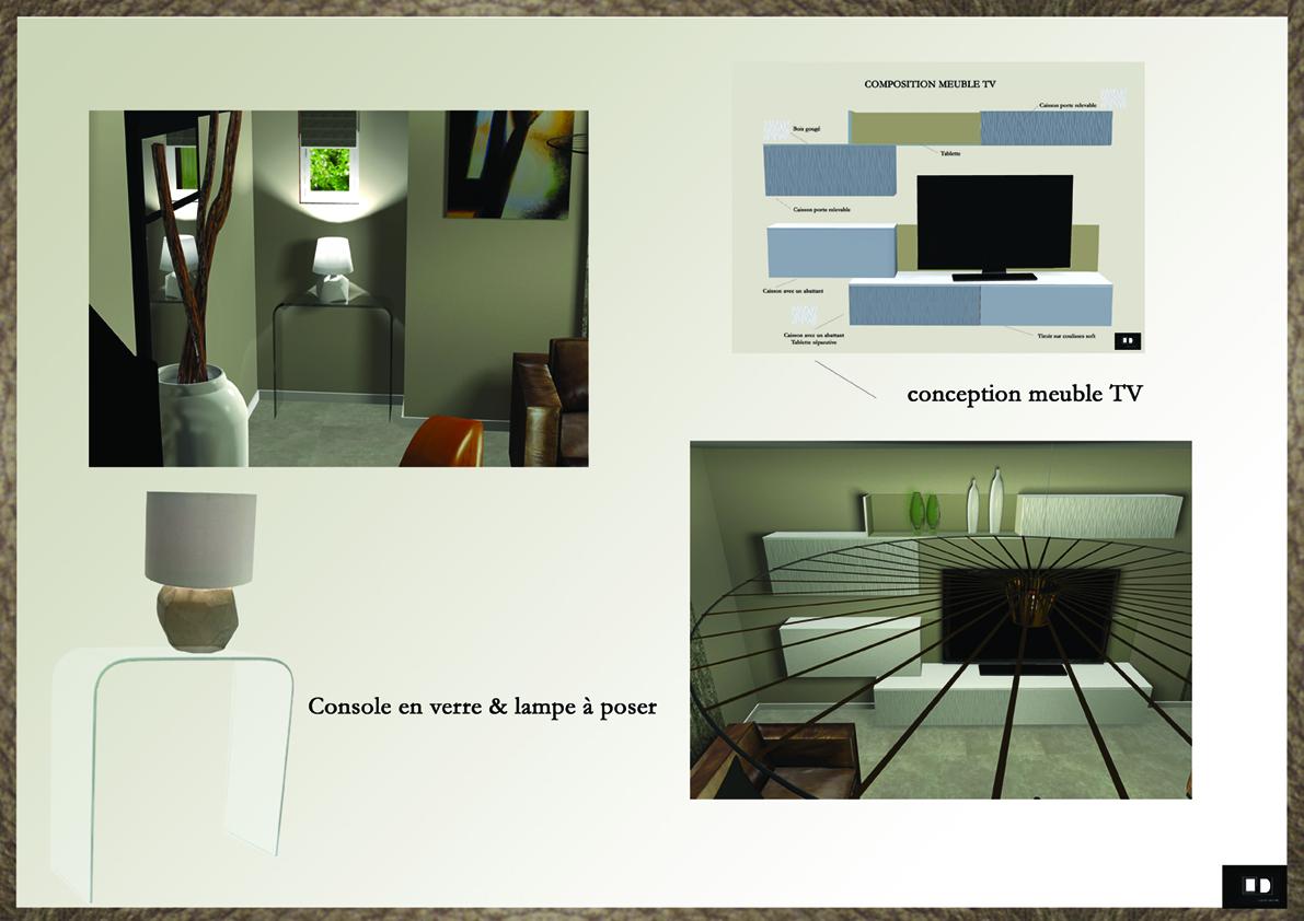 Salon Salle Manger Beauvais Lajoie D Cors # Meuble Tv Modulaire