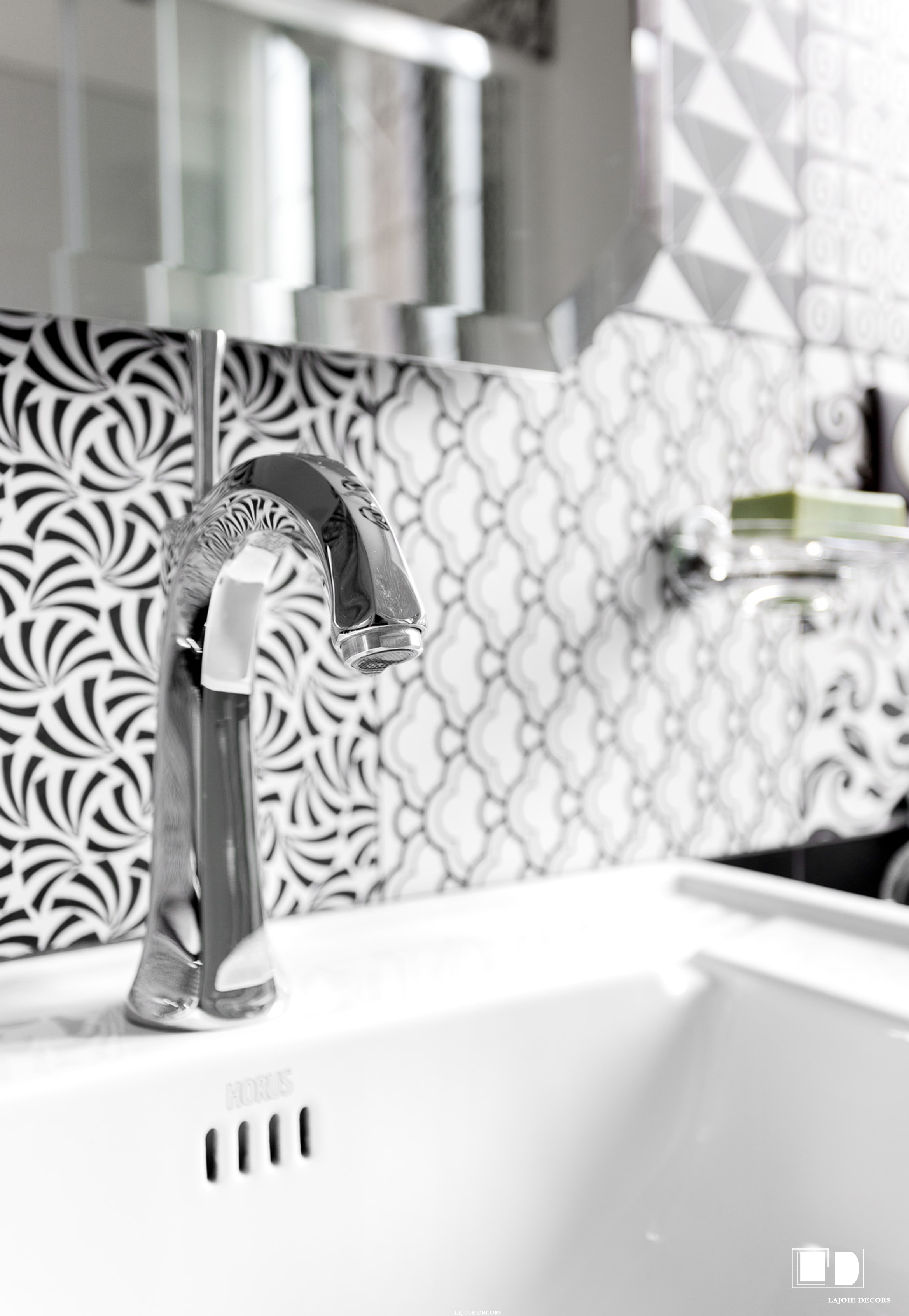 Salle de bain Style Art Déco Chic intemporelle